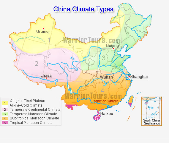 China Climate Types