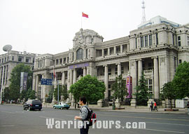 Street scenery of Wuhan City, Hubei Province