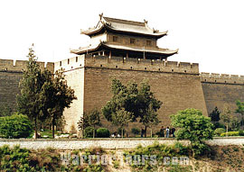 Xian City Wall, Shaanxi