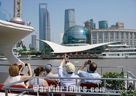 Huangpu River and the Bund, Shanghai.