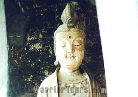 Sui Dynasty – Buddha statues found in the Maiji Mountain Grottoes