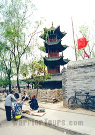 Kuixing Tower from Yuan Dynasty, Wang's Compound, Pingyao, Shanxi