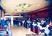 A Waiting Room of the Beijing Railway Station