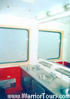 The water closet on a train, China