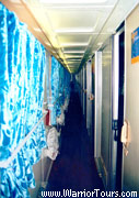 The corridor of Soft-sleepers, China tour