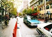 Taxies in Shanghai