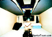 Hard-sleepers, train in China