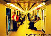 Inside a subway, Shanghai