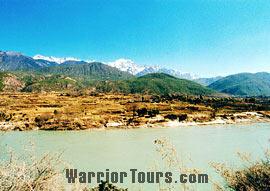 First Bend of Yangtze River, Lijiang