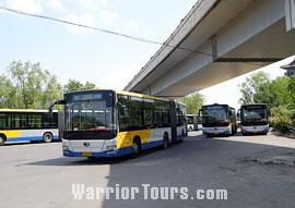 A  Public Bus in Beijing