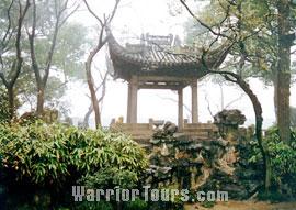 Suzhou Gardens-Canglang Pavilion