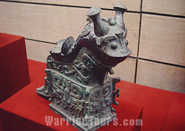 A bronze beast of Western Zhou Dynasty, Shaanxi History Museum