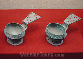 Spoons of Western Zhou Dynasty, Shaanxi History Museum, Xian