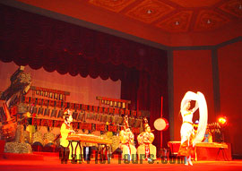 Performance in Hubei Provincial Museum, Wuhan