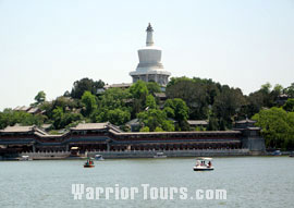 White Dagoba on the Qiongdao Island, Beihai Park, Beijing