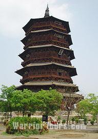 Wooden Pagoda, Datong, Shanxi