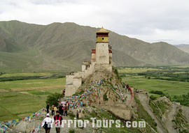 Yunbu Lakang in Shanan, Tibet