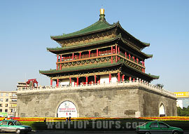 Bell Tower, the landmark of Xian