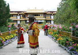 Beautiful Norbulingka, Lhasa