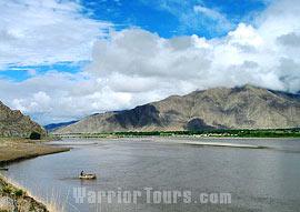 Beautiful scenery of Tibet.
