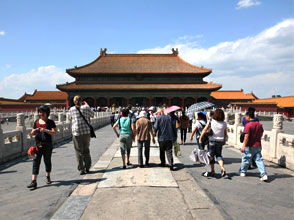 Palace of Heavenly Purity in Forbidden City, Beijing
